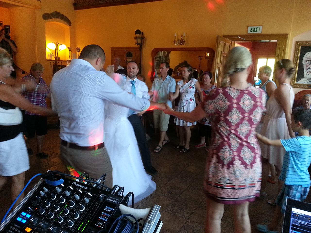 DJ na svatbu reference Zlatý Orel Ostravice