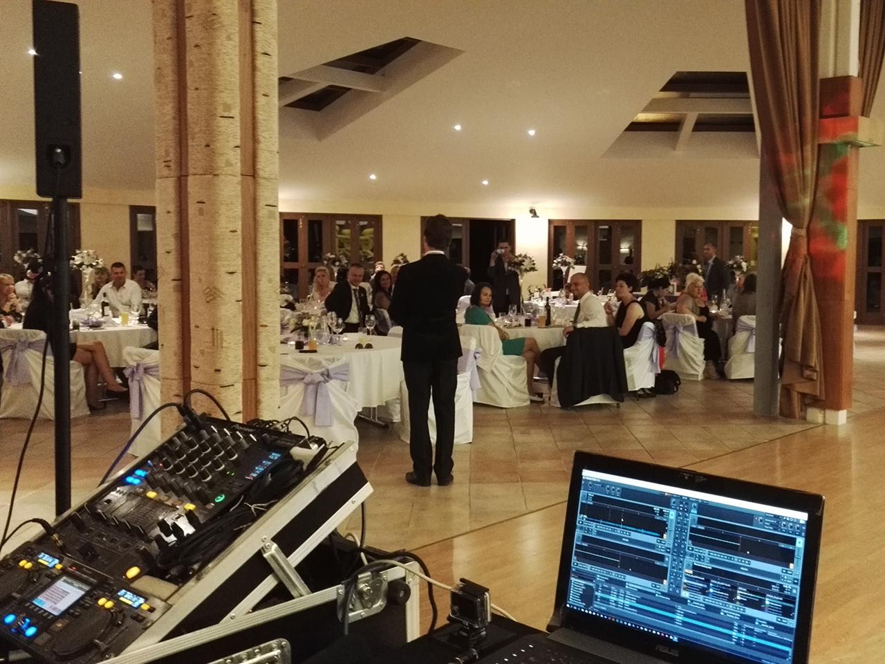 DJ na svatbu reference Golf Čeladná