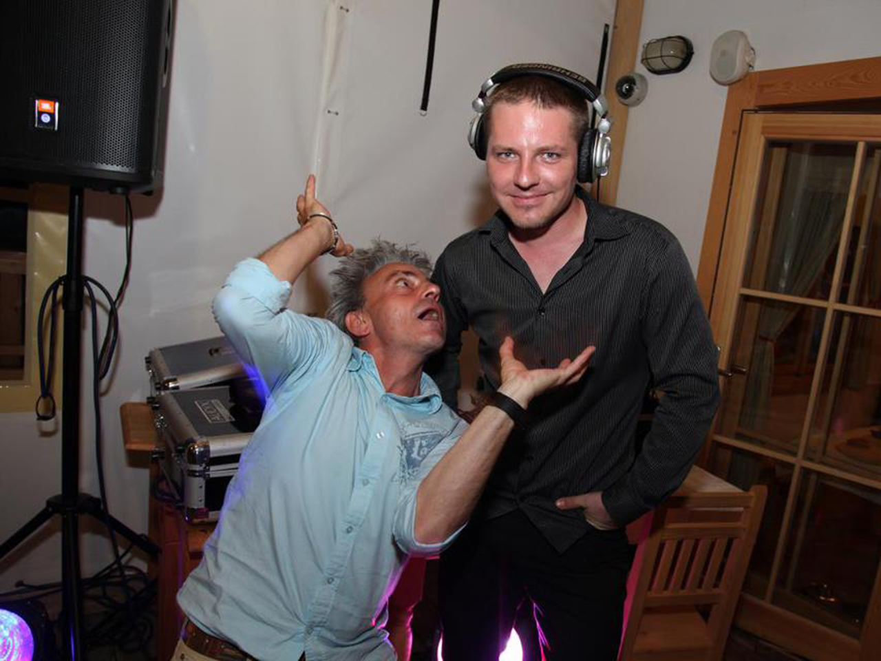 DJ a moderátor Roman Pastorek