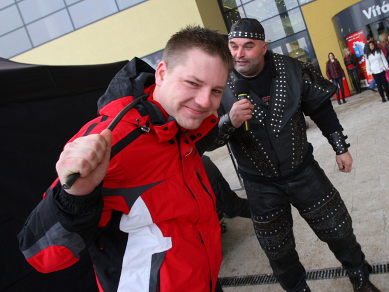Moderátor Roman Pastorek Železný Zekon