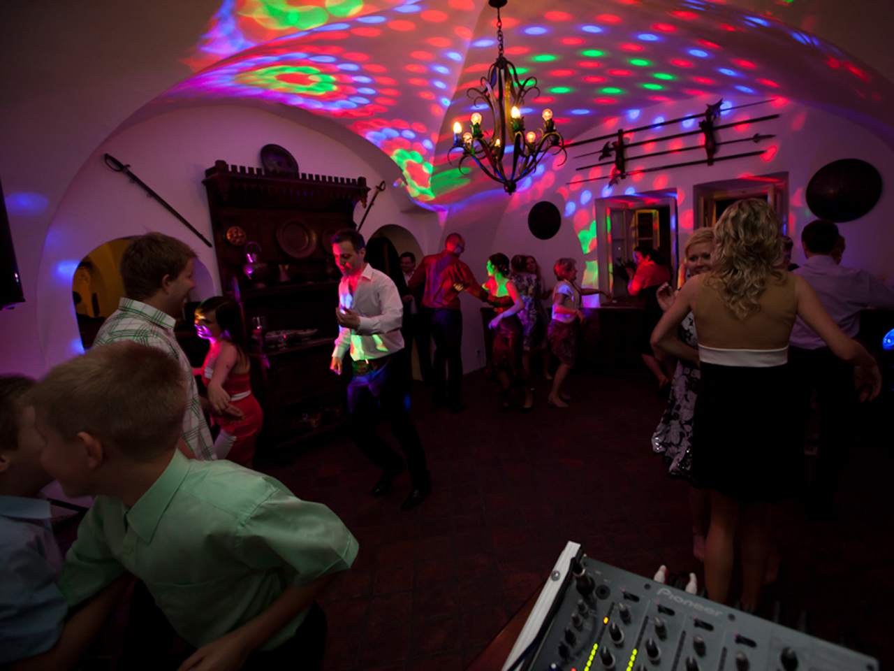 DJ na svatbu reference Zámeček Ostrava Zábřeh