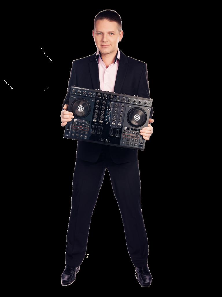 Roman Pastorek DJ na svatbu